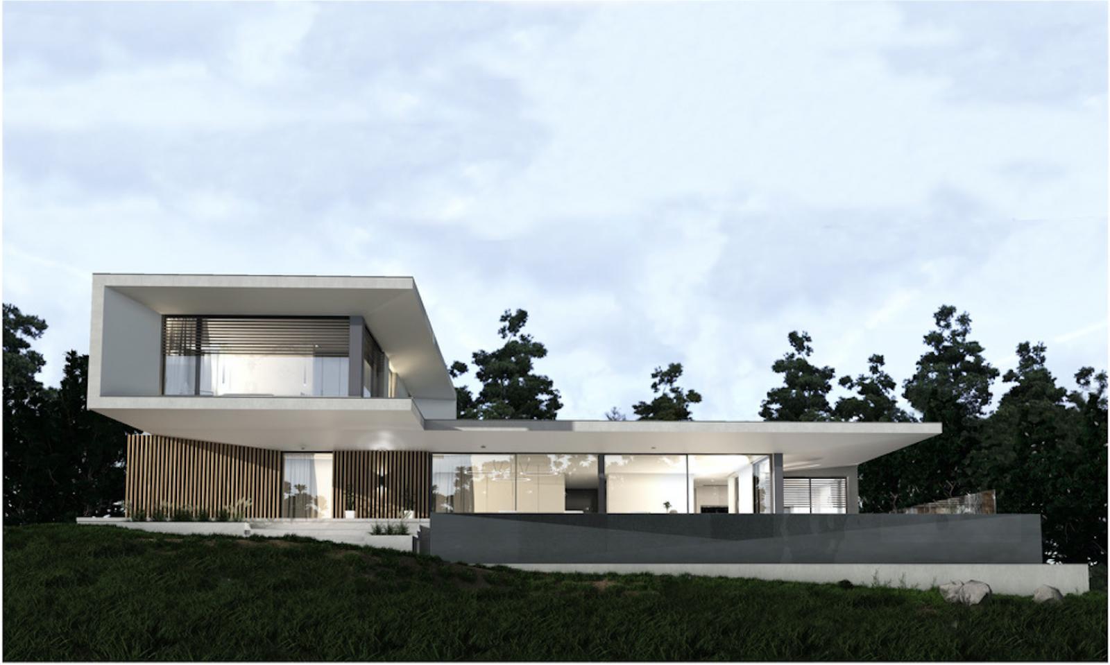 Construction De Maison Sur Terrain En Pente Construction Et Extension De Villa Haut De Gamme Lyon Maltez Maconnerie